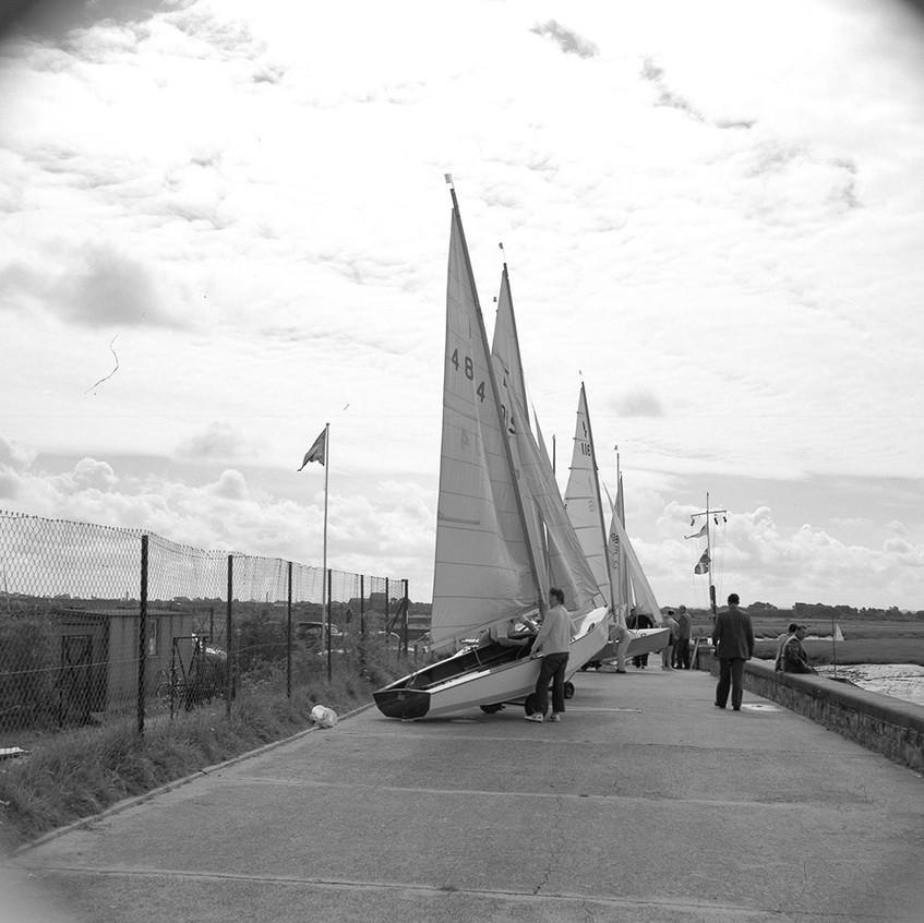 Burnham Sea Front 1961