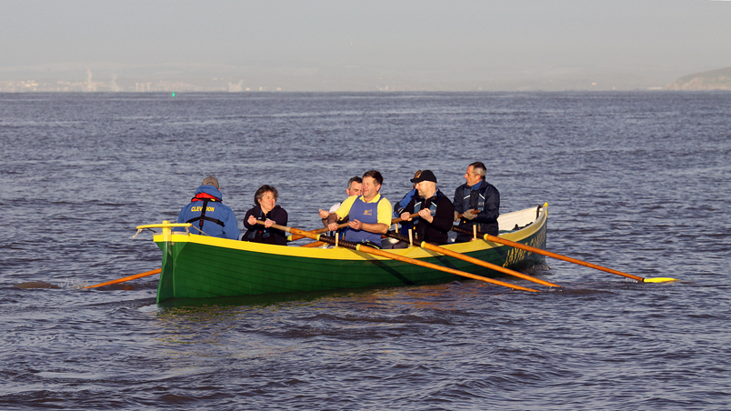 Burnham On Sea Gig Rowing