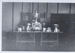 1958 - Trophies On Display