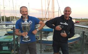 BOSMBSC Regatta 2020 Winners David Barrett & Sean Curran