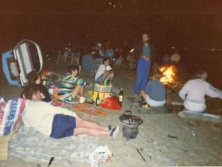 Stert Island Visit 1980's