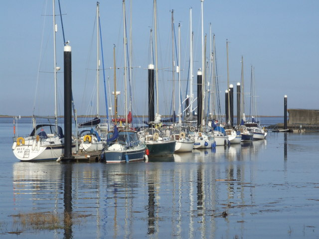 Burnham On Sea Sailing Club Pontoons