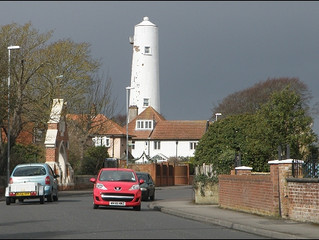Lighthouses Of Burnham On Sea