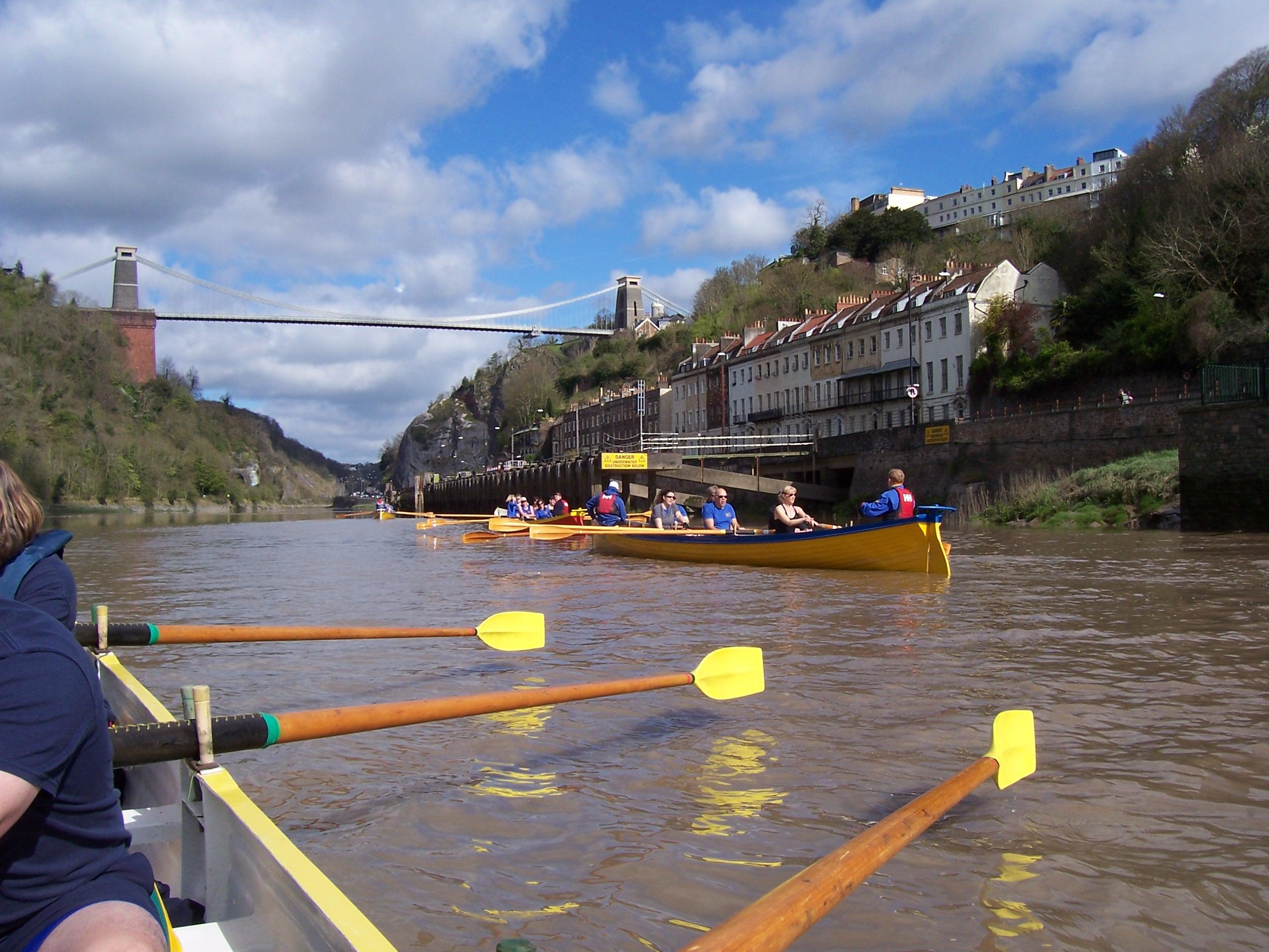 Burnham On Sea Sailing Club Rowing