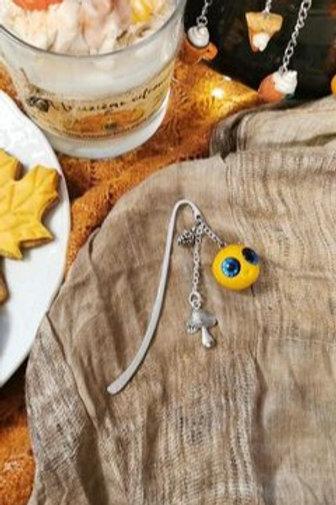 Marque-page citrouille