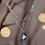 Thumbnail: Lune à l'étoile - Collier double