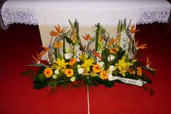 Devant de tombe et d'autel