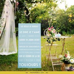 LES REGLES DU MARIAGE