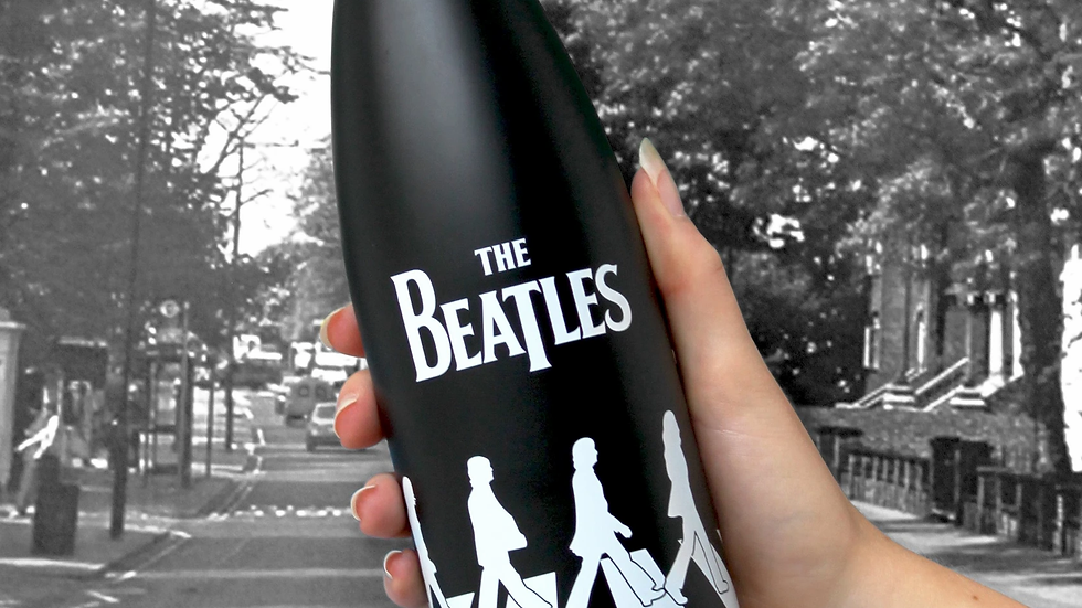 The Beatles Abbey Road Flask