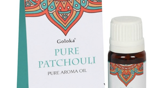 GOLOKA 10ML PURE PATCHOULI FRAGRANCE OIL   Goloka 10ml Pure Patchouli Fragrance