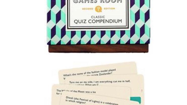 RIDLEYS GAMES ROOM CLASSIC QUIZ COMPENDIUM
