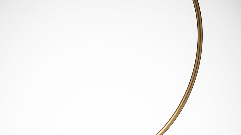 GLASS BALL DISPLAY STAND - GOLD