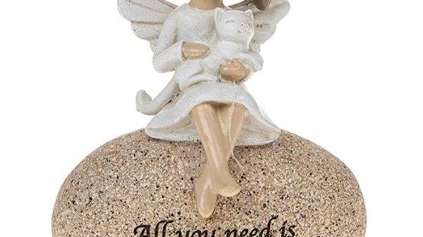 ANGEL STONES ANGEL & CAT