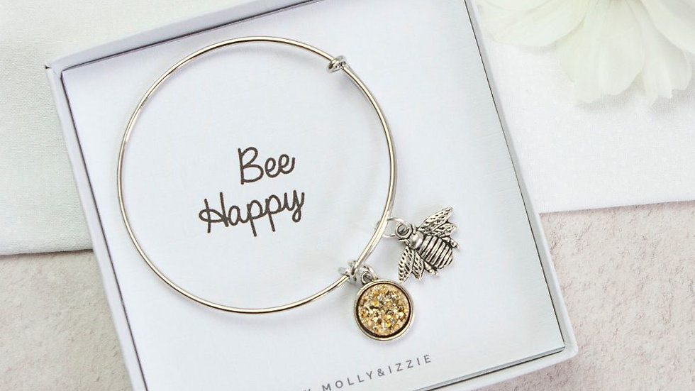 BEE HAPPY BANGLE