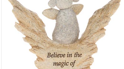 Pebble Art Angel Angel