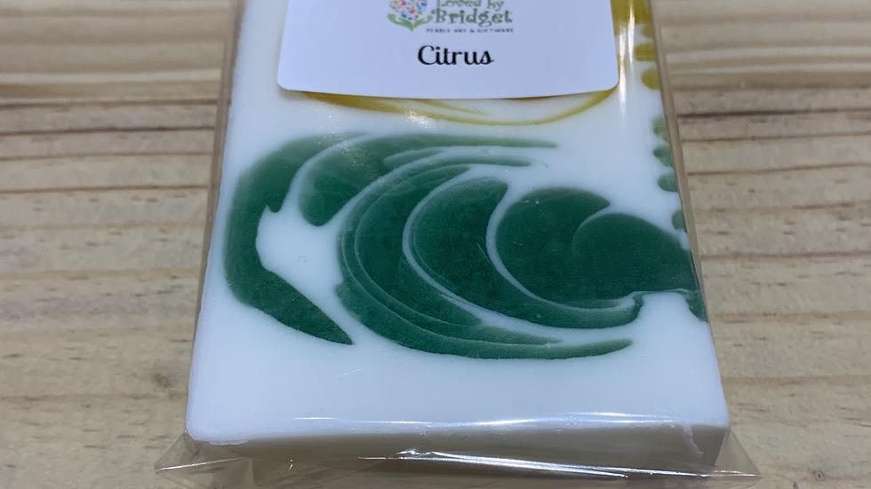 CITRUS OLIVE OIL SOAP