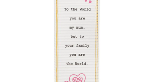 THOUGHTFUL WORDS MUM PLAQUE
