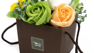 Soap Flower Bouquet - Spring Flowers