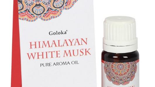 GOLOKA 10ML HIMALAYAN WHITE MUSK FRAGRANCE OIL