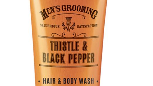 THISTLE & BLACK PEPPER HAIR & BODY WASH