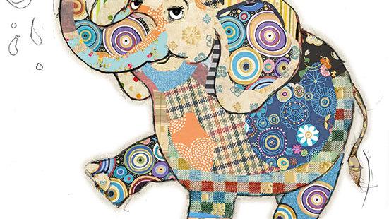 EDDIE ELEPHANT GREETINGS CARD