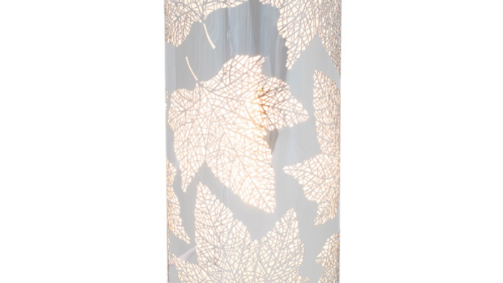 SILVER MAPLE LEAF AROMA TOUCH LAMP