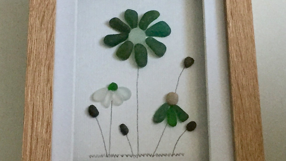 SEAGLASS FLOWERS
