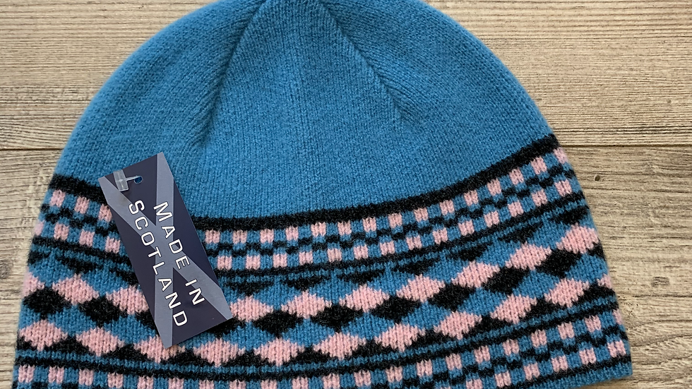 Unisex 100% Wool HAT- MADE IN SCOTLAND