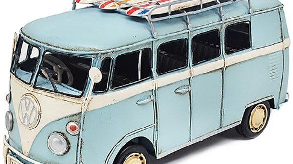 Light Blue Vintage Volkswagen Camper