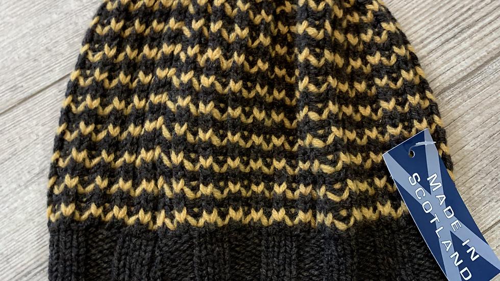 Unisex 100% Wool & Angora HAT- MADE IN SCOTLAND