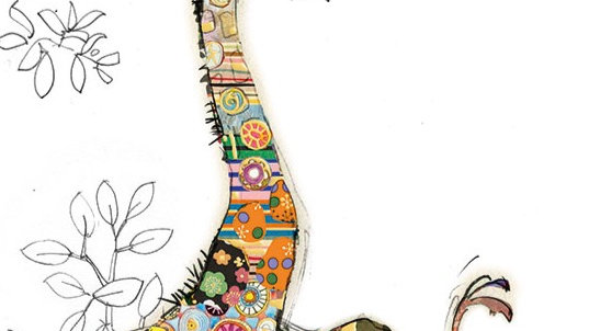GERRY GIRAFFE GREETINGS CARD