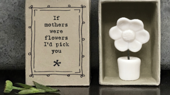 MOTHERS WERE FLOWERS MATCHBOX EAST OF INDIA
