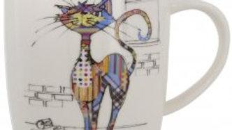 BUG ART COLA CAT MUGS