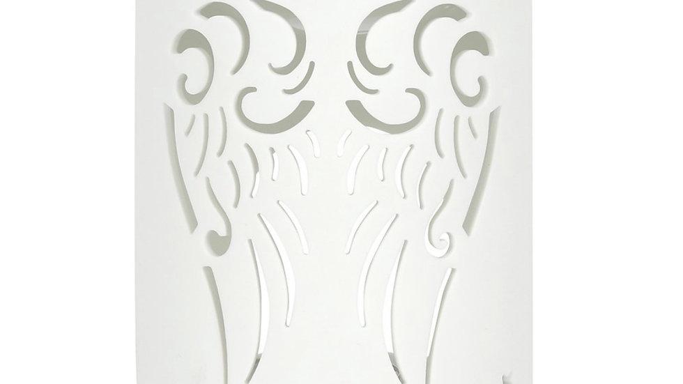 White Angel Wings Cut Oil Burner