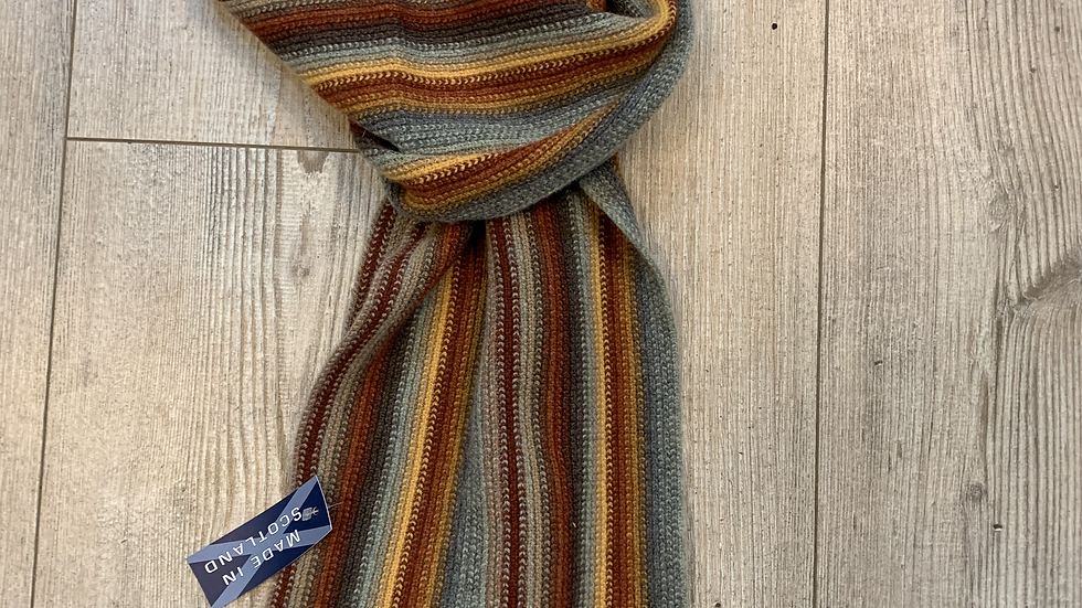 Unisex 100% Wool Scarf - MADE IN SCOTLAND