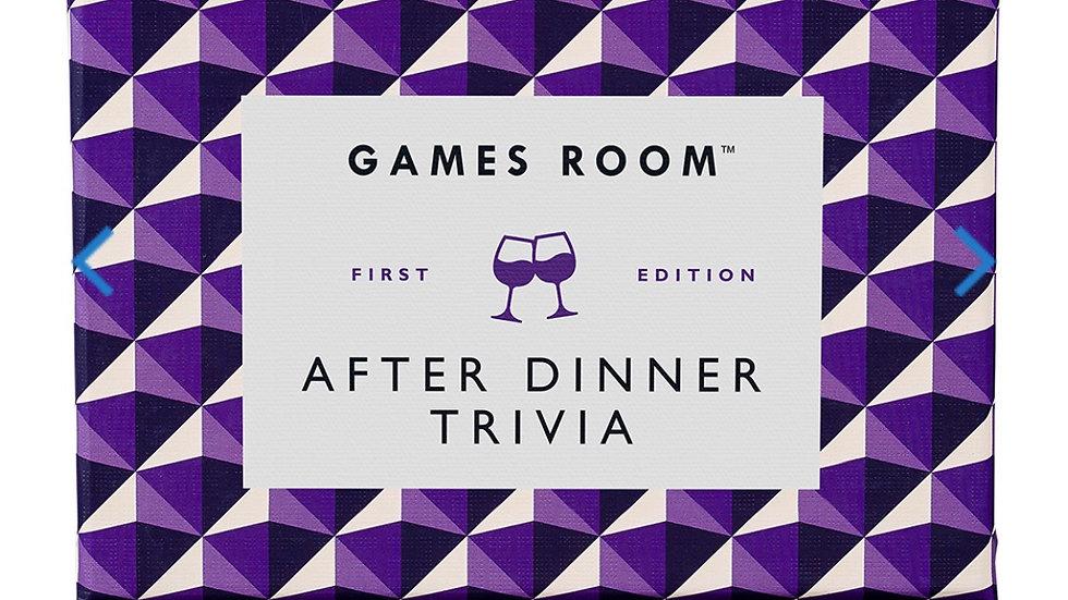 RIDLEYS GAMES AFTER DINNER TRIVIA