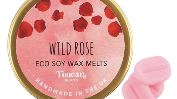 WILD ROSE ECO SOY WAX MELTS