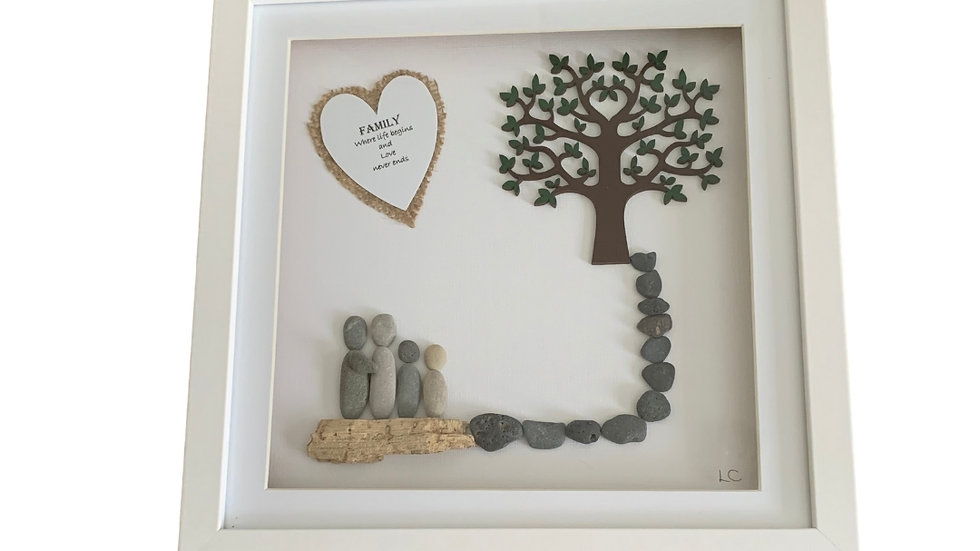 FAMILY PEBBLE ART