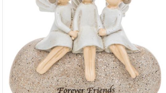 Pebble Art Angel Friends
