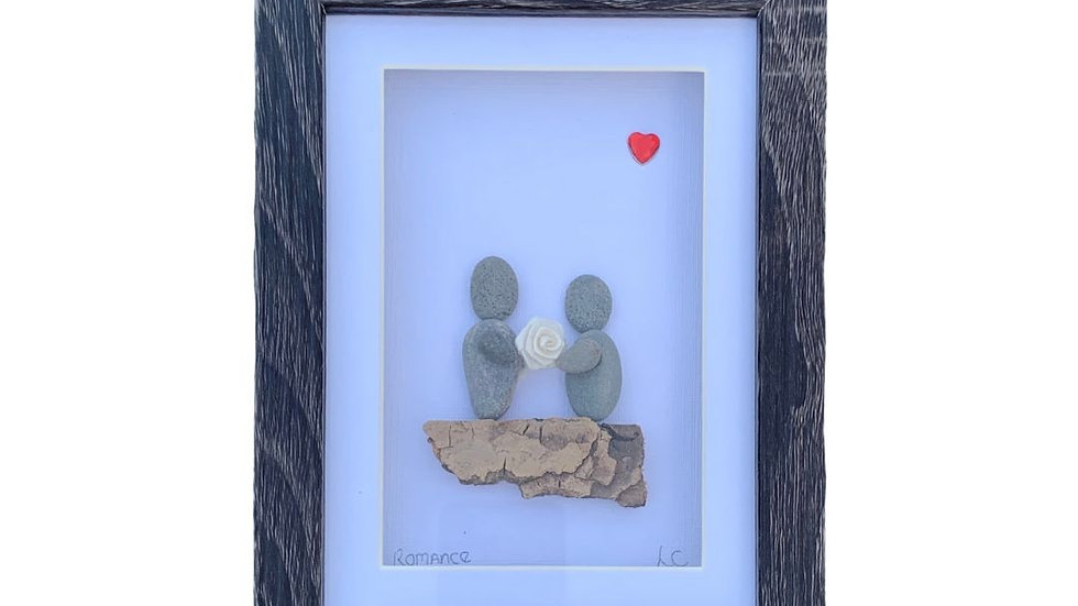 ROMANCE PEBBLE ART