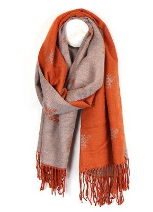 POM Reversible scarf Bee design