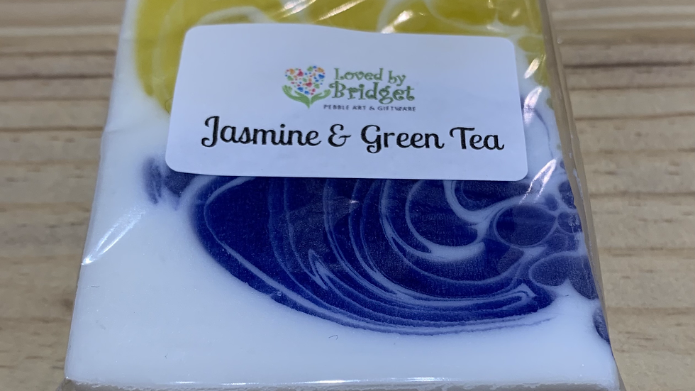 JASMINE & GREEN TEA OLIVE OIL SOAP