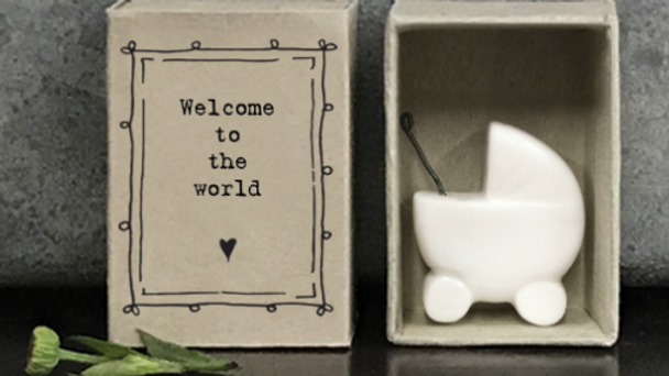 WELCOME TO THE WORLD MATCHBOX