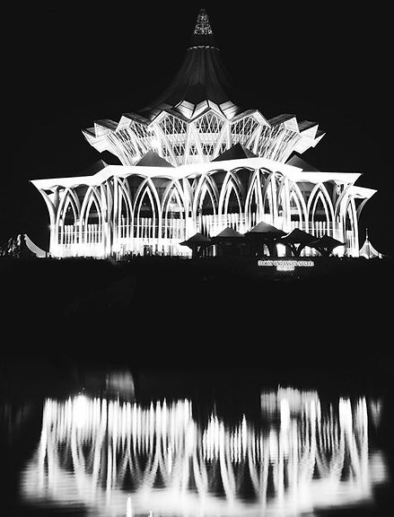 "Kuching - ""The city is an endless and co"