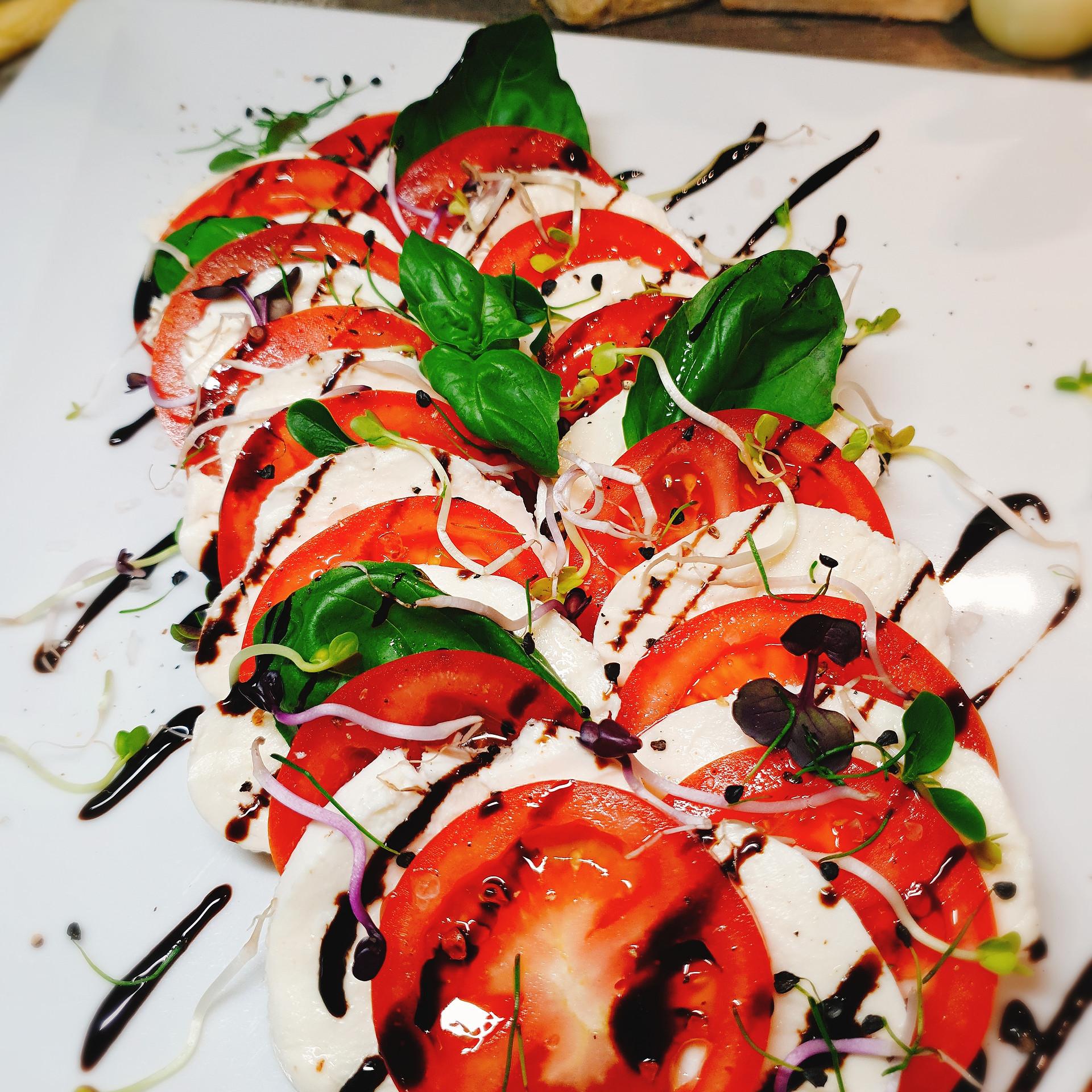 Tomaten Mozzarella Caprese