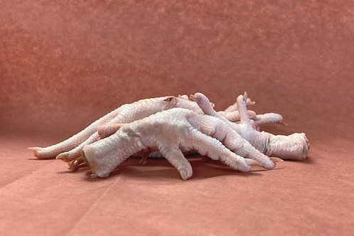 Raw Chicken Feet