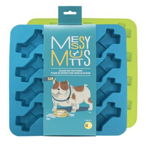 Messy Mutts Silicone Treat Molds (2pk)
