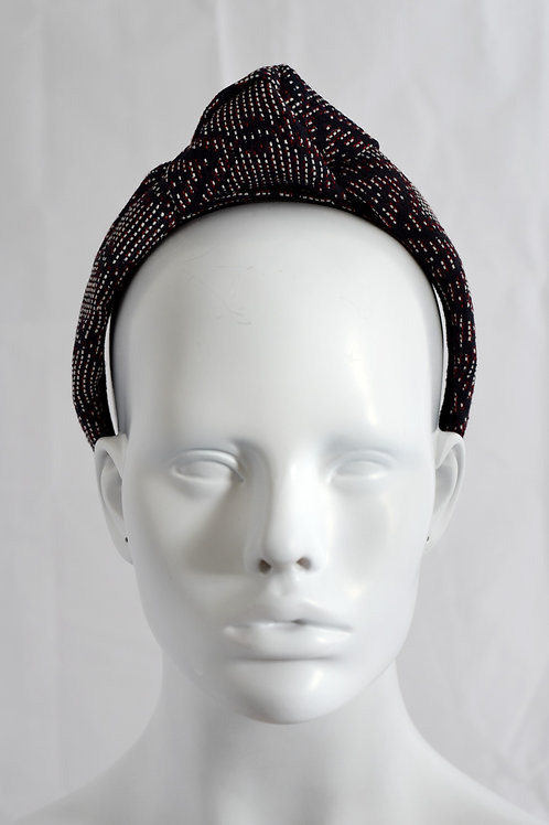 Brocade turban- Navy