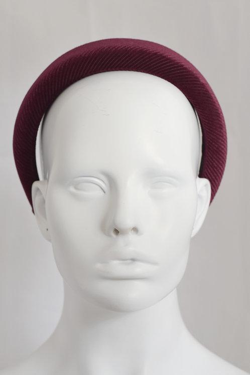 Lucinda Headband-Claret