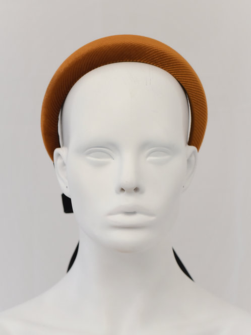 Lucinda Headband- Rust